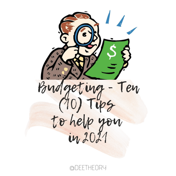 Budgeting – 10 Tips to help you in 2021 (Blogmas Day17)