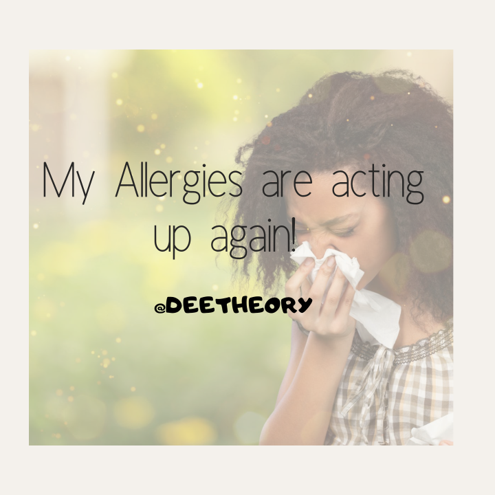 Allergies – How are you coping? Tips to Remedy the situation – Blogmas Day 15