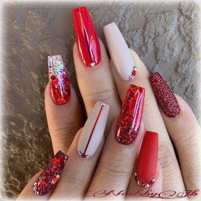 Christmas Nails #Blogmas Day5