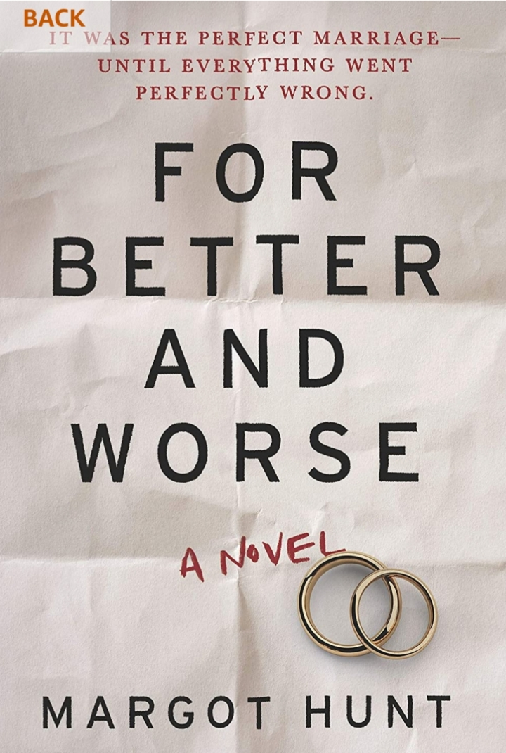 For Better and Worse- Margot Hunt#BookReview