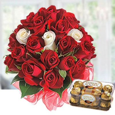 Buy your own roses and chocolate on Valentines Day